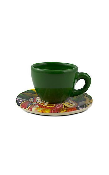 Xícara de Café Verde Iara Figueiredo